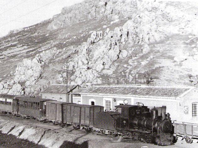 valdep puertollano tren con nº 6 asturias enb cabeza foto tevor rowe